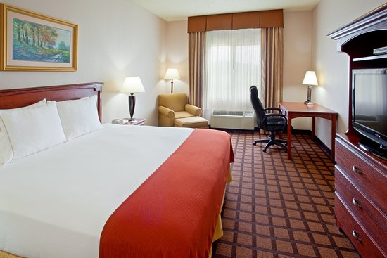 Longview Express Inn: King Bed Guest Room
