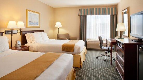 Holiday Inn Express Middletown / Newport: Guest Room