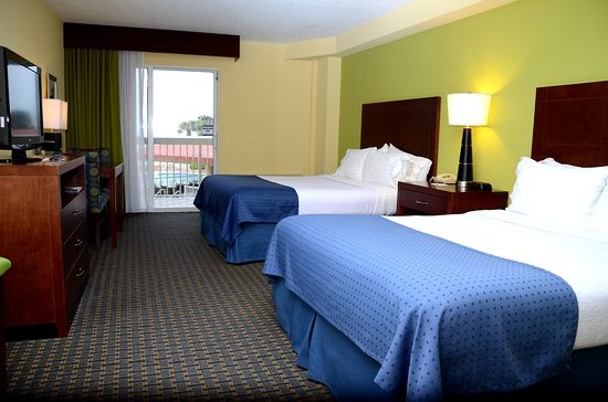 Holiday Inn Hotel & Suites Daytona Beach: 2 Queen Beds Ocean Front Non Smoking