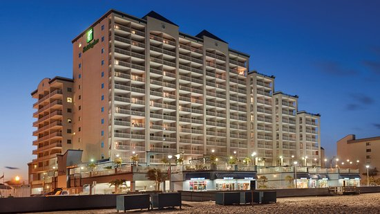Holiday Inn Hotel & Suites Ocean City : Exterior from the beach