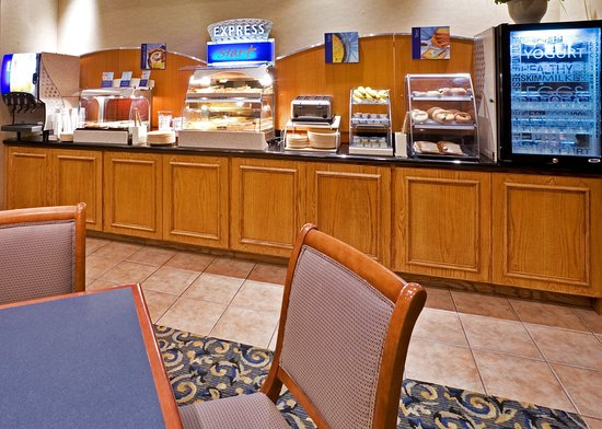 Holiday Inn Express Hotel & Suites Dallas/Stemmons Fwy(I-35 E): Breakfast Bar