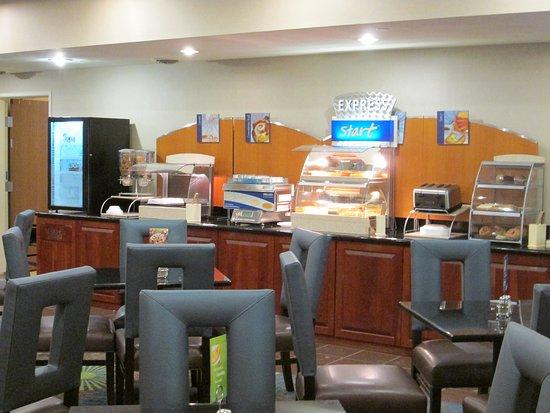 Newell, Virginia Occidental: Breakfast Bar