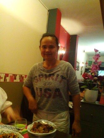 Jan Thai: la maitresse de maison fait elle memes la cuisine