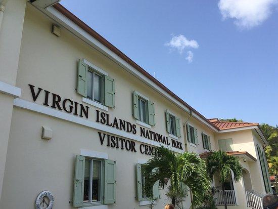 Cruz Bay Visitor Center: Worth a stop