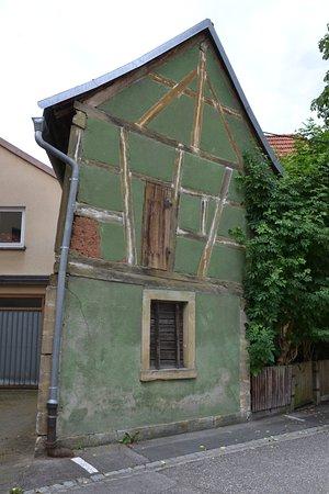 Ebern, Germany: schiefe Häuser
