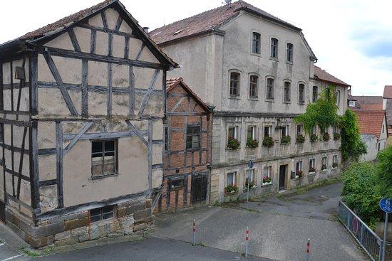 Ebern, Germany: verwahrloste leerstehende Häuser
