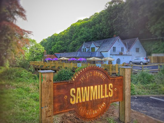 Ilfracombe, UK: Sawmills