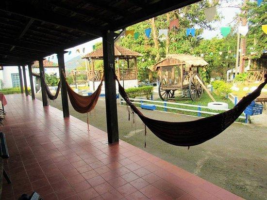 Hotel Fazenda Palmital: Área de convivência do Hotel