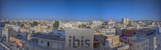 Ibis Tunis: Panorama from room 611