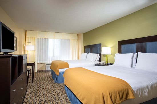 Holiday Inn Express Newport Beach: Our guest rooms come with free WiFi, flatscreen TV, and fridge