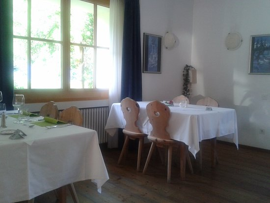 Valchava, Swiss: one of three restaurant rooms
