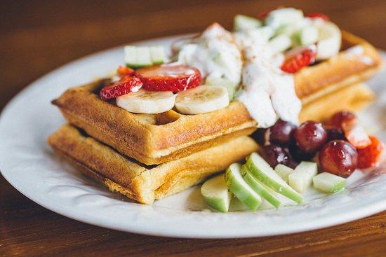 Melanie's Food Fantasy: Waffles.