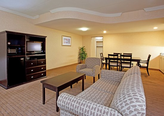 Holiday Inn Farmington Hills/Novi: Living room and dining room area