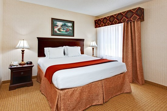 Kingsport, TN: Executive King Suite Bedroom area