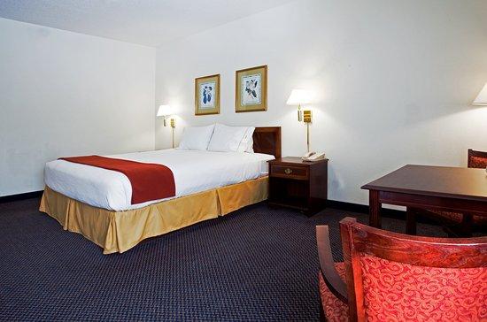 Hillsborough, Βόρεια Καρολίνα: King Bed Guest Room