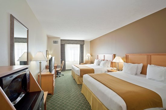 Holiday Inn Express Lincoln South: Double King Guest Room