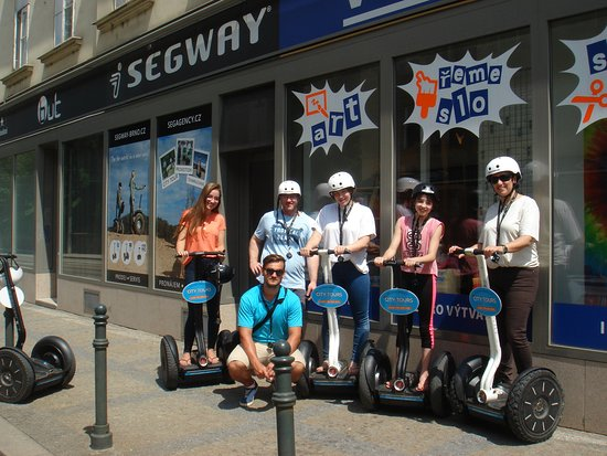 Brno Segway Tour