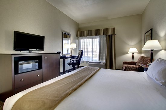 Holiday Inn Express Dahlonega: King bed