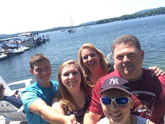 Wolfeboro, Nueva Hampshire: Small beach/dock area