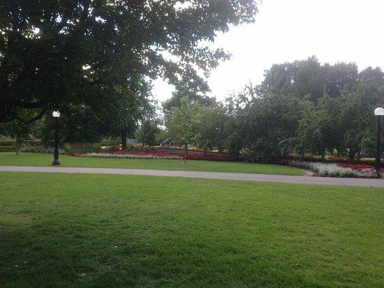Ottawa, Canadá: Visão do parque Major's