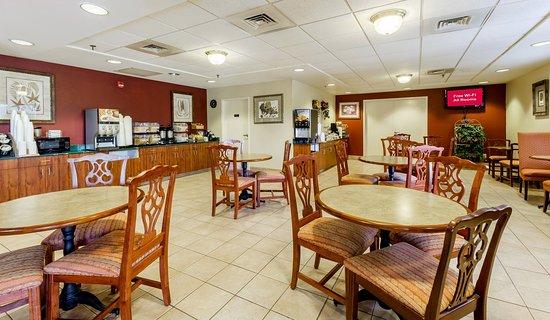 Troutville, Вирджиния: Breakfast Area