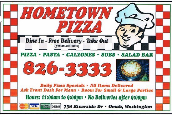 Rodeway Inn & Suites: Local Pizza