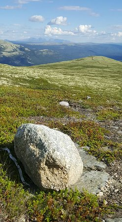 Tynset, Norveç: Halfway to the Tronfjell top