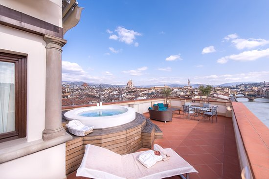 The Westin Excelsior Florence: Belvedere Suite Terrace