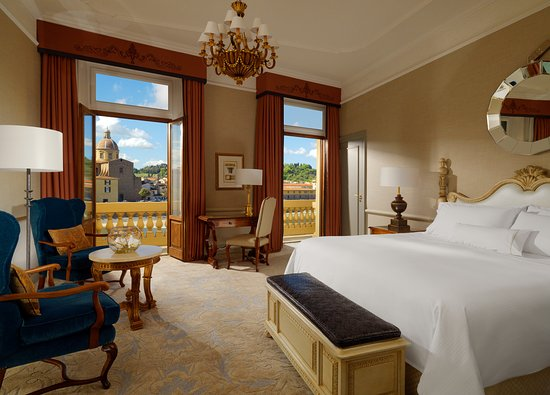 The Westin Excelsior Florence: Premium Deluxe Room with Arno River view