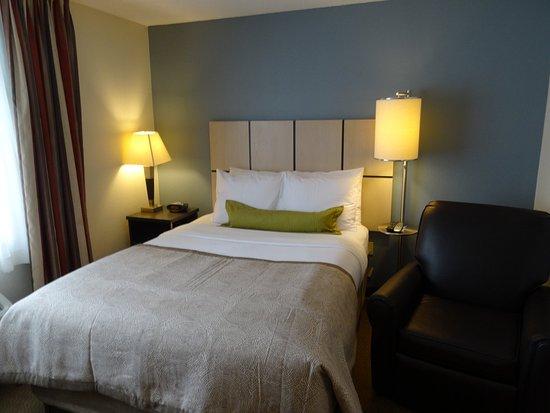 Candlewood Suites Minneapolis - Richfield : Studio Suite queen bed