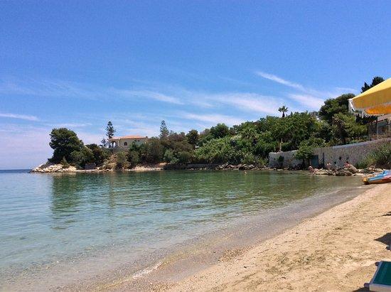 La spiaggia privata foto di grand hotel ortigia for Hotel ortigia con spa