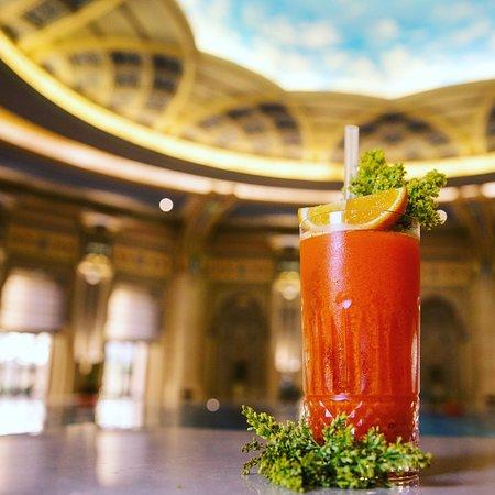 Coffee and signature drinks and Chorisia Lounge at The Ritz-Carlton Hotel Riyadh
