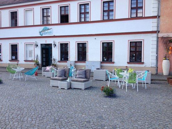 Beeskow, Deutschland: Schönes Bistro, klein, fein, perfekt!