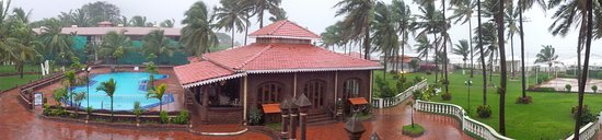 Hotel Goan Heritage: view from room