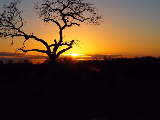 Ulusaba Private Game Reserve, Sudáfrica: Beautiful African sunset