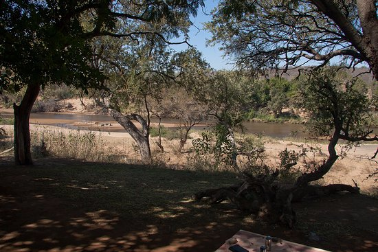 Balule Private Game Reserve, Sudáfrica: River View from the Chalet