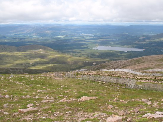 Aviemore, UK: View from the viewing platform