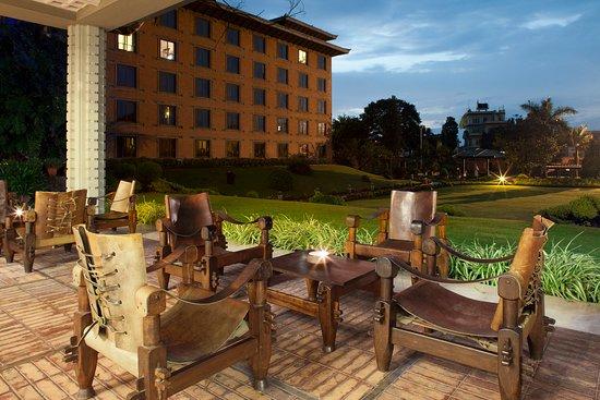 Crowne Plaza Kathmandu-Soaltee: Guest Patio