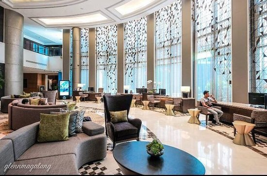 Ascott Makati's New Lobby and reception area