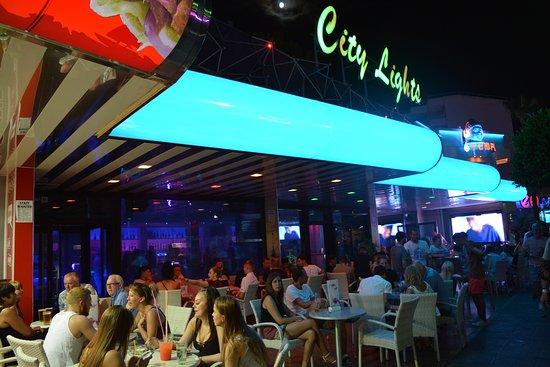 City lights bar picture of city lights bar magaluf tripadvisor city lights bar aloadofball Choice Image