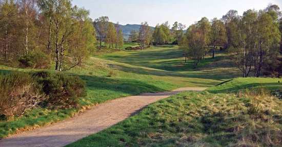 Boat of Garten, UK: Photos of classic James Braid course.