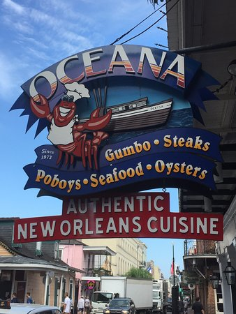 Oysters rockefeller oceana oysters picture of oceana for Bourbon street fish