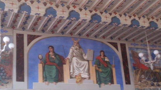 Soreze, Francia: salle de l'abbaye école de Sorèze