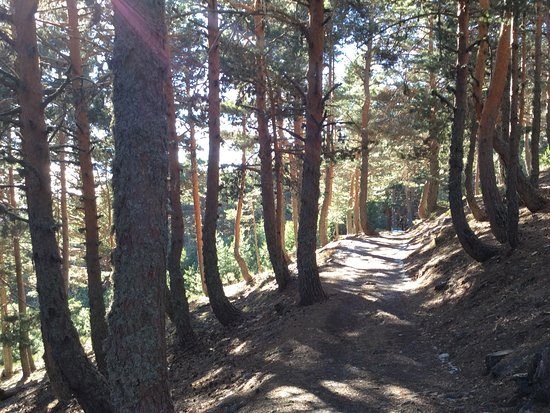 Caminatas en Sierra de Guadarrama, parque Natural de Peñalara