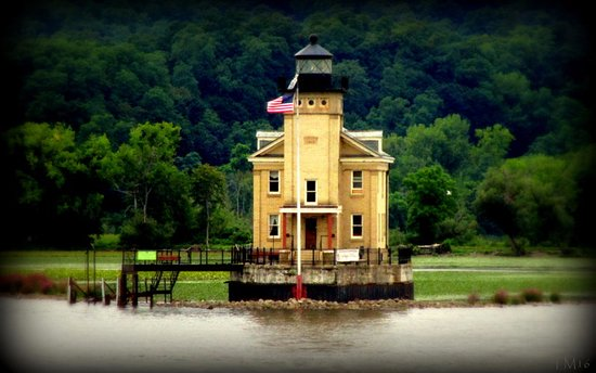 Kingston light house at Rondout