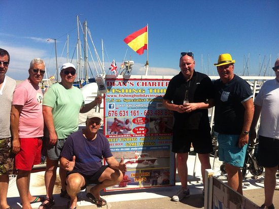 Puerto de la Duquesa, España: Group Fishing Trip