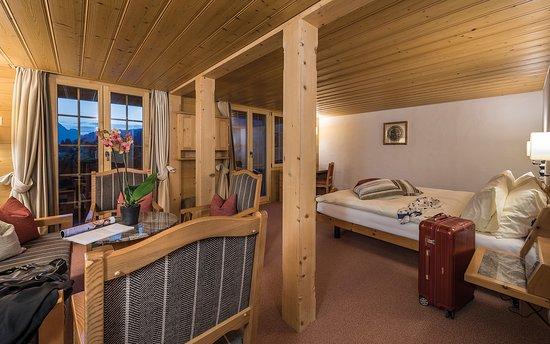 Saanenmoser, สวิตเซอร์แลนด์: Chalet Werner: Hotelzimmer 22.