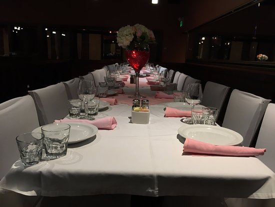 Towson, MD: Table Set