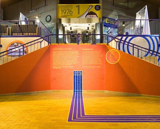 Olympic Park (Parc olympique): Exposition Souvenirs de 1976