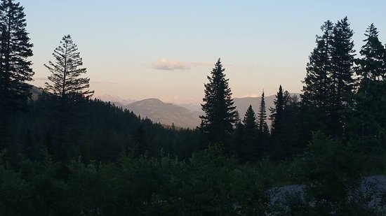 Whitefish Mountain Resort: From our balcony